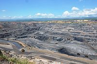 Colombia - El Cerrejón, la mina de carbón a cielo abierto más grande del mundo.