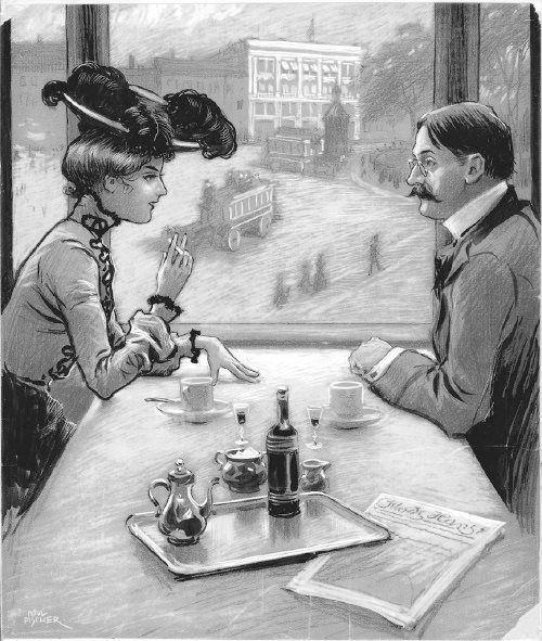 Paul Fischer - Café