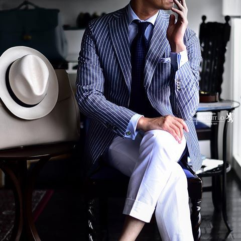 summer jacket  #ermenegildozegna  #bellago #bespokesuit110 #suit110
