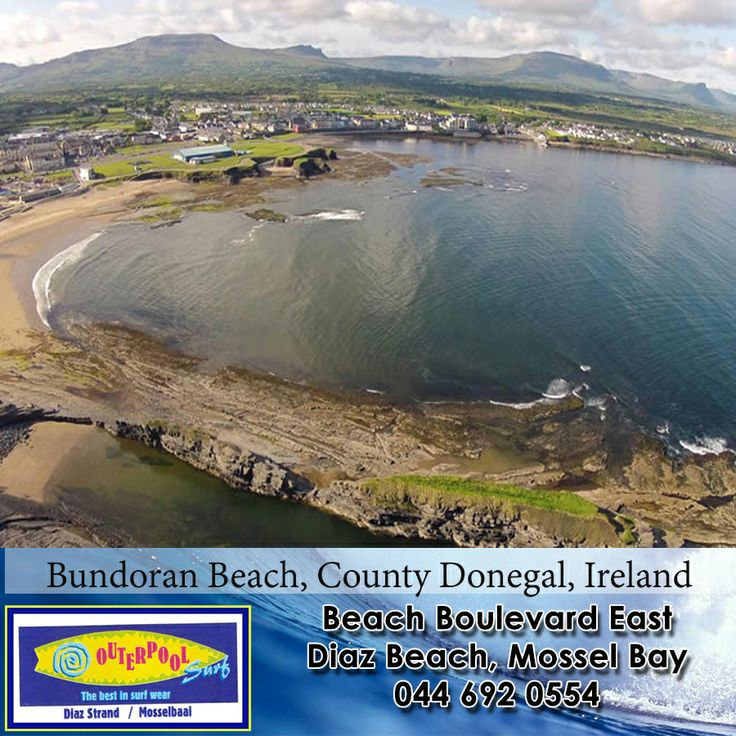 Surfing Spots! Bundoran Beach, County Donegal, Ireland.  #surfing #spot #Ireland