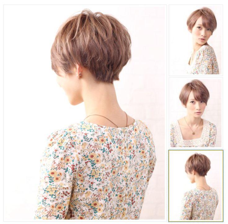 cute short hair cut style idea