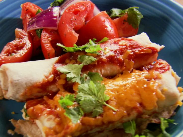 Beef And Bean Burritos Food Network