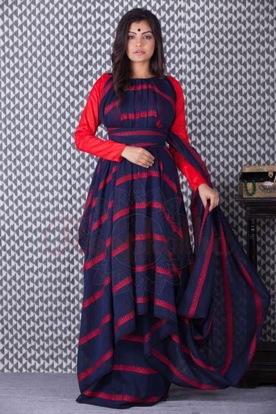 Khadi Cotton Handloom Saree-KCH061050301