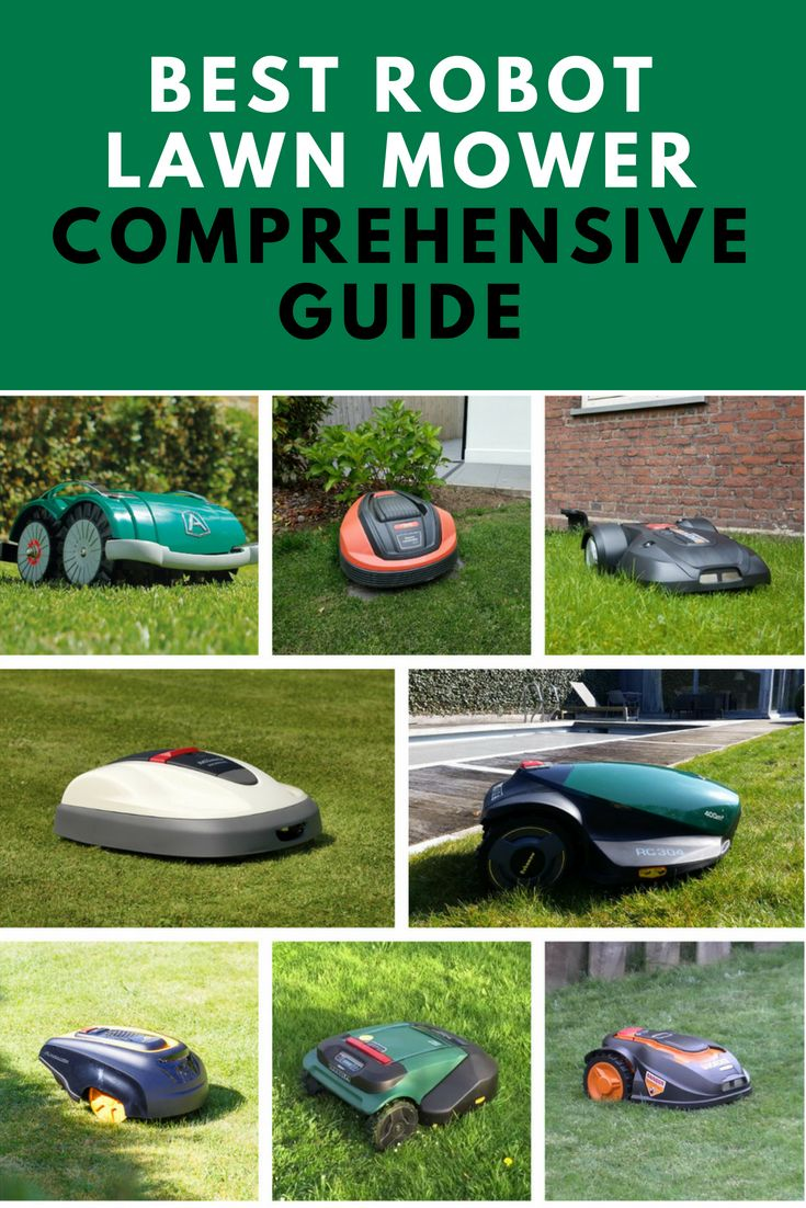 How To Choose The Best Robot Lawn Mower Comprehensive Guide And
