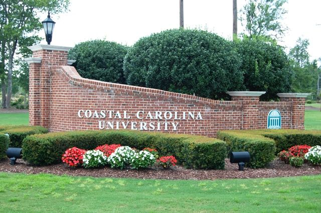 Coastal Carolina University Entryway photo by Pamela Watson LoveMyrtleBeach.net