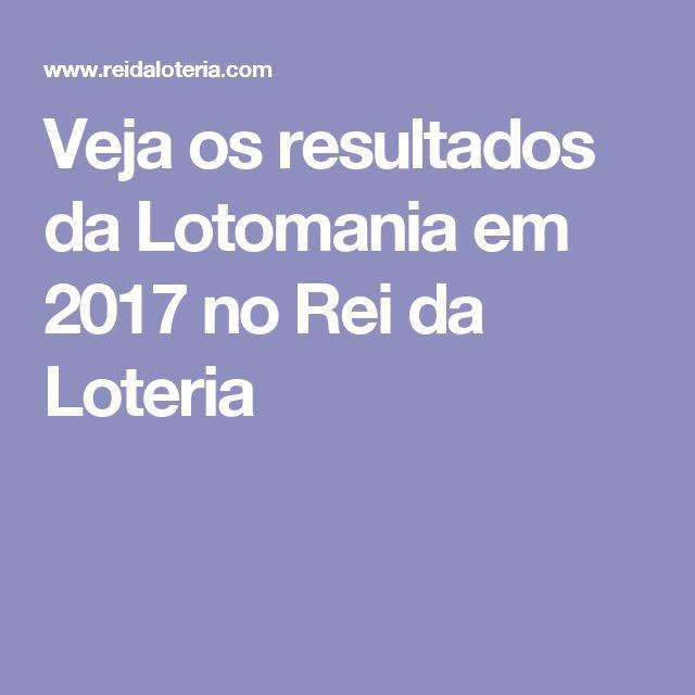 Veja os resultados da Lotomania em 2017 no Rei da Loteria