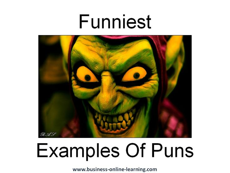 "English Puns - a 3 minute ""Just For Fun"" video.  Hope you like it!"
