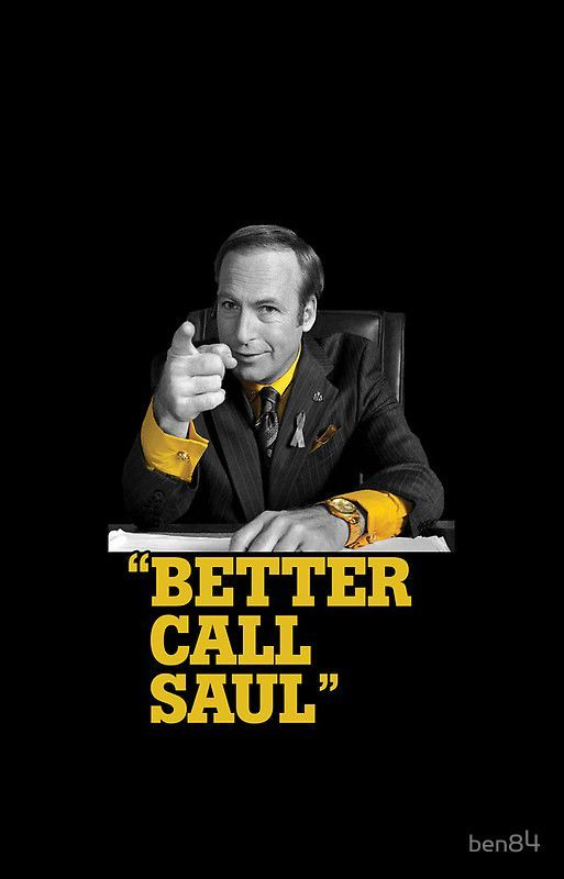 Breaking Bad- Saul Goodman returns with his show 'Better Call Saul' - can't wait #GangsterFlick