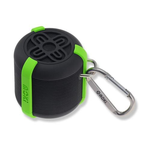 AquaBass Waterproof Bluetooth Black and Green Speaker - School Depot NZ  - 1