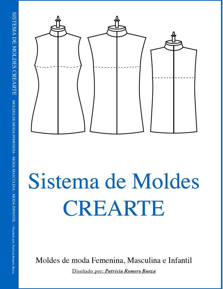 APRENDE LOS 12 MÓDULOS PARA CONSTRUIR PATRONES:FALDAS - MODA SPORT - BLUSAS - VESTIDOS - PANTALÓN - MODA INFANTIL - MODA MASCULINA - CORSETERÍA Y LENCERÍA - ALTA NOCHE Y NOVIA - SASTRERÍA - CUERPOS ESPECIALES - ESCALADO INDUSTRIALEl Sistema de Moldes Crearte, es un método que sirve para construir los moldes de las prendas de vestir. Este sistema ha sido creado tras una serie de procedimientos rigurosamente comprobados, para que el lector reciba toda la información necesaria y pueda realizar…