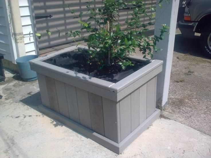 24 Useful Ideas For Your Leftover Containers Idea Box By Kitchen Kelli. Large  PlantersOutdoor ...