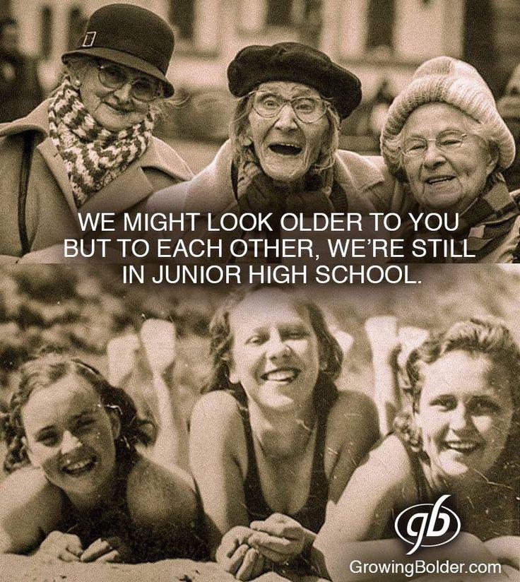 """...we're still in junior high school...Wooo Hooo!!!"""