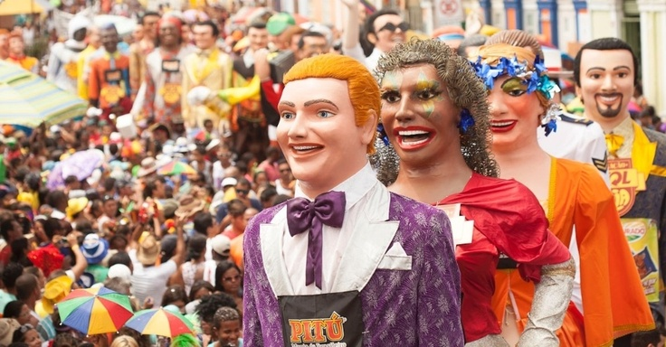 Encontro de Bonecos Gigantes de Olinda - Fotos - UOL Carnaval 2013