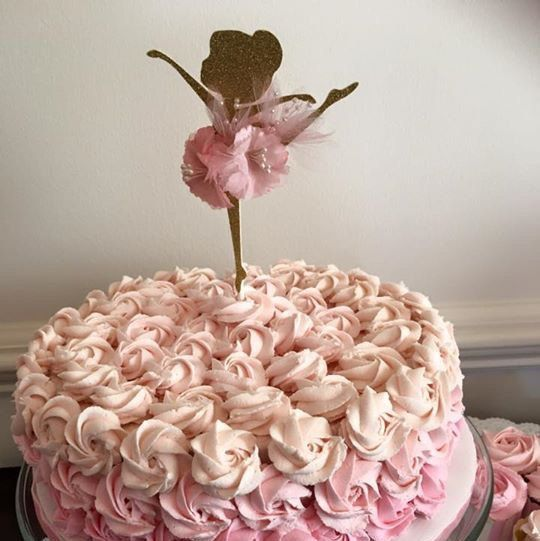 25 best ideas about ballerina baby showers on pinterest for Ballerina cake decoration