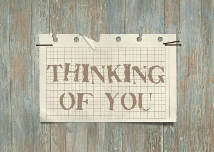 12049 Sterkte kaart Thinking of you - Sterkte kaarten - Kaartje2go