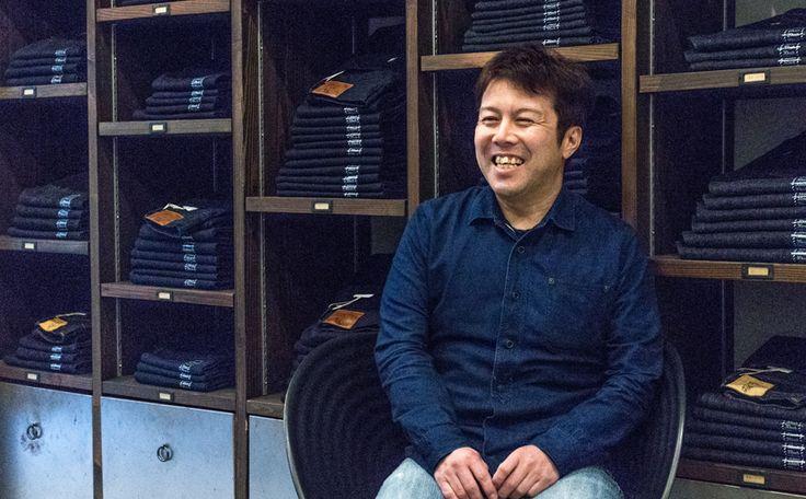有限会社正藍屋 代表取締役社長の岩谷健一氏