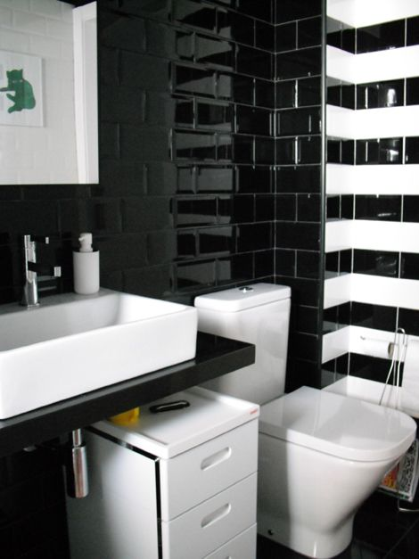 Painting Tile Black