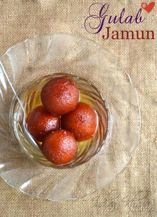 Milk Powder Gulab Jamuns  Classic Khoya Gulab Jamun decoded with milk powder for a easy version.  Try this for this Raksha Bandan and please your brother, perfect for any occasion, celebration, festival , Diwali