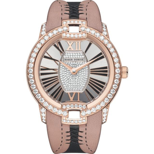 Roger Dubuis Velvet Collection- Haute Couture Corsetry Diamonds Pink Gold | 300magazine