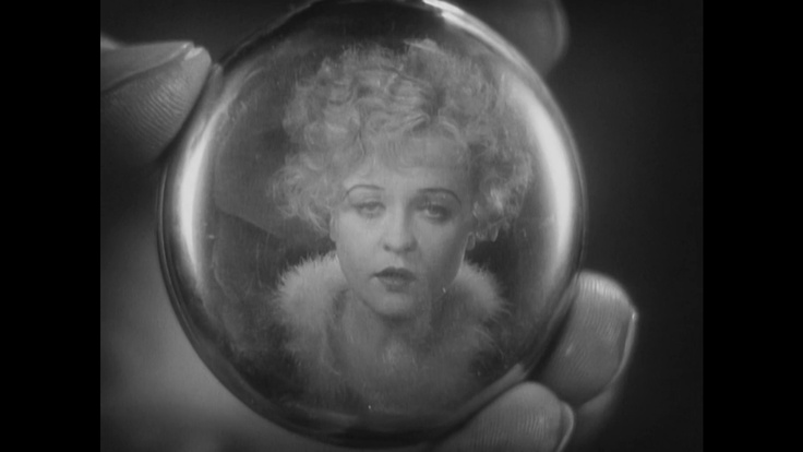Clever camera work in this scene of Roxie Hart from the 1927 version of 'Chicago'