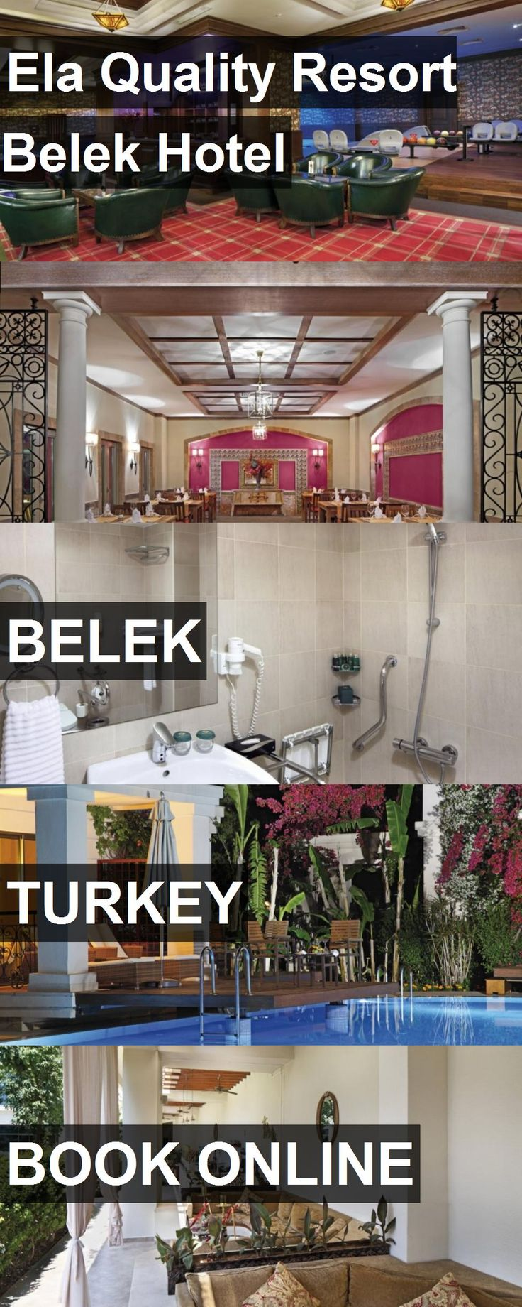 Hotel Ela Quality Resort Belek Hotel in Belek, Turkey. For more information, photos, reviews and best prices please follow the link. #Turkey #Belek #hotel #travel #vacation
