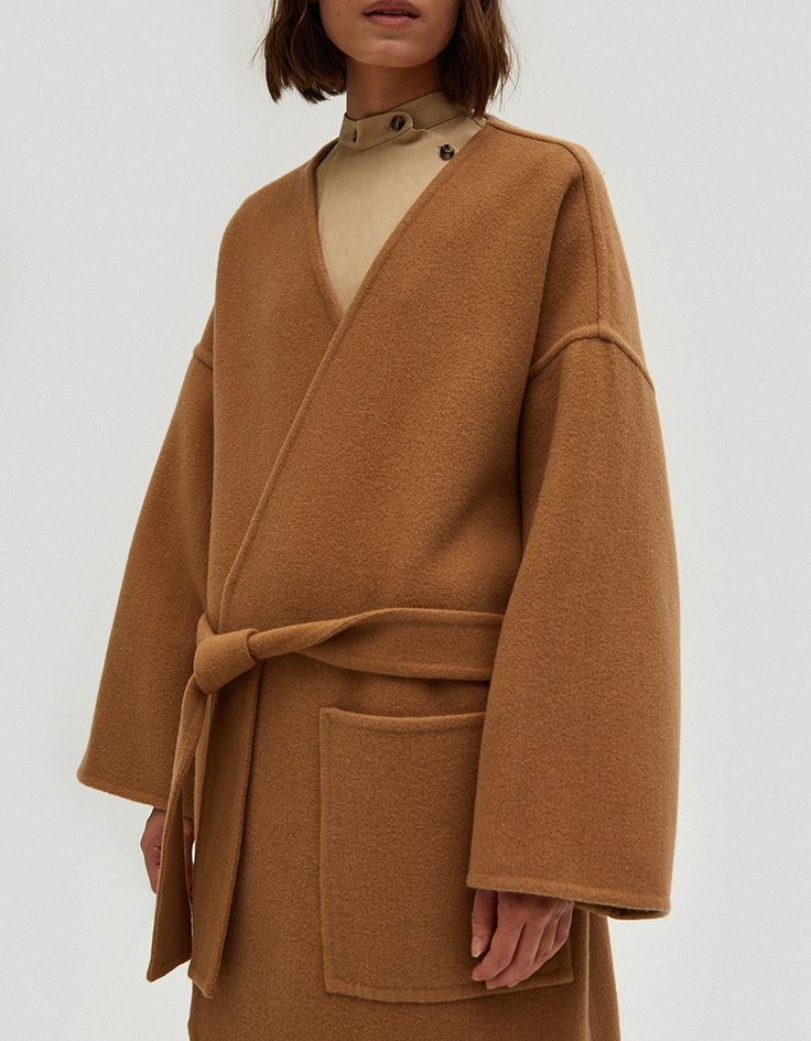 J.W. Anderson / Pointed Hem Double Face Coat