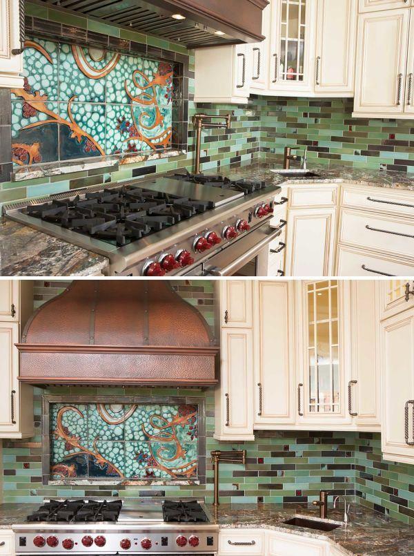 Tiles - Tile Mural Kitchen Backsplash | Decorative Tile ...