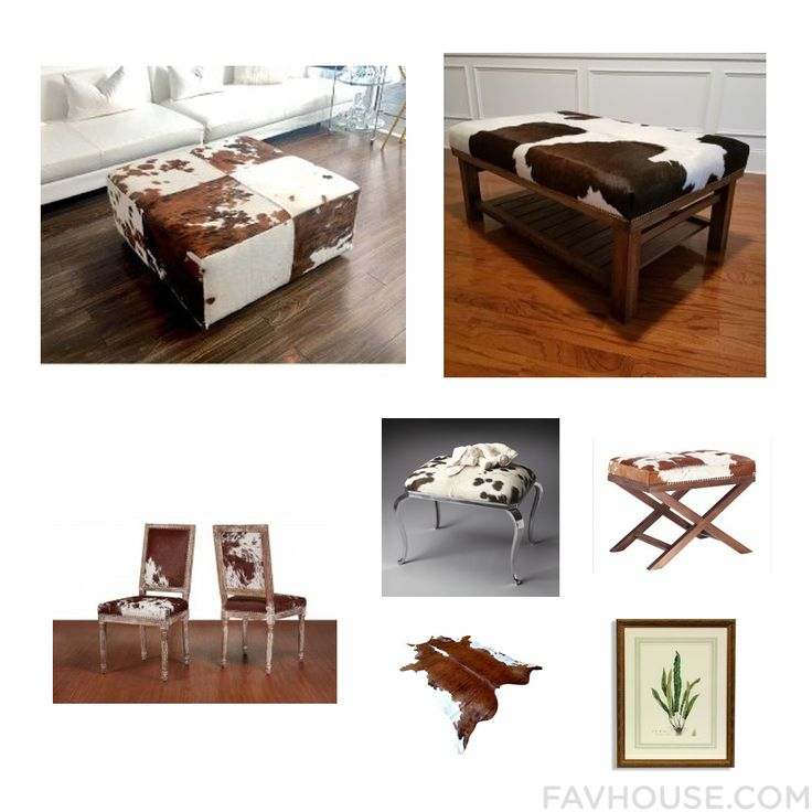 Homeware Collage Including Accent Table Cowhide Ottoman Dining Chair And Cowhide Furniture From November 2016 #home #decor