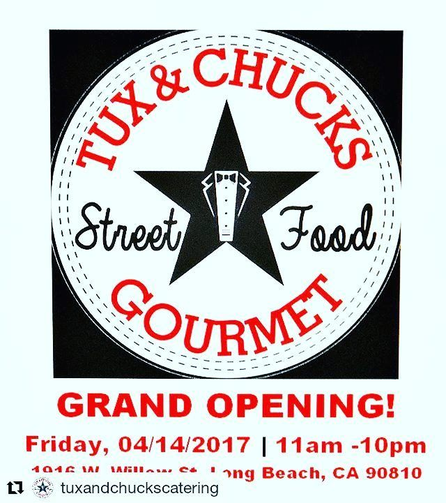 The Westside of Long Beach would like to welcome Tux & Chucks (@tuxandchuckscatering) to the neighborhood just opened this week! Come out and show some support for this new local business that specializes in street food fushion tacos & quesadillas. : @tuxandchuckscatering  Find out more about Real Estate and life in the Long Beach area at: http://ift.tt/2jVDgDz  #longbeach #carson #cerritos #signalhill #torrance #lakewood #cypress #downey #bellflower #norwalk #wilmington #artesia #gardena…