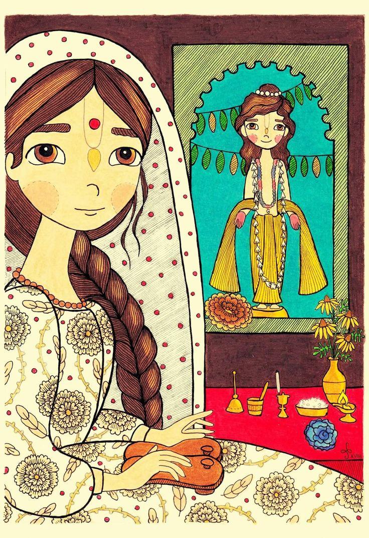 Saragrahi Art Vishnupriya devi and her Dhameshwar.  Happy Birthday! #vishnupriya #dhameswar #gauranga #india #birthday #devotionalart #bhakti #yoga #gaudiya #vaishnava #devi #krishnaart #krishna #illustration #drawing