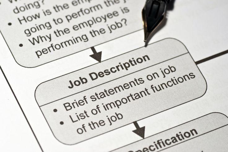 18 Best Images About Job Descriptions On Pinterest