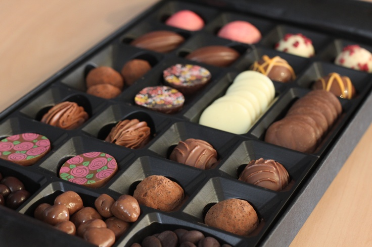 This months #chocolate tasting box includes selections from Master Chocolatiers; Barry Colenso, Pierre Ledent and Claire Hicklin.