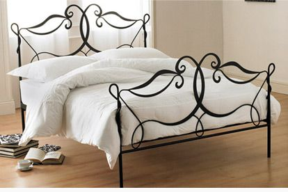 Wrought Iron Bed Design