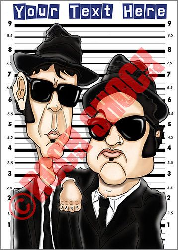 The Blues Brothers Digital Caricature Greeting Cards Check out this item in my Etsy shop https://www.etsy.com/uk/listing/510940275/blues-funny-caricature-custom #thebluesbrothers #blues #classicmovies #rhythmandblues #soulmusic #bluesbrotherscaricature #digitalcaricature #jakeblues #edwood