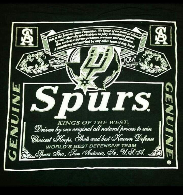 Spurs Kings Of The West