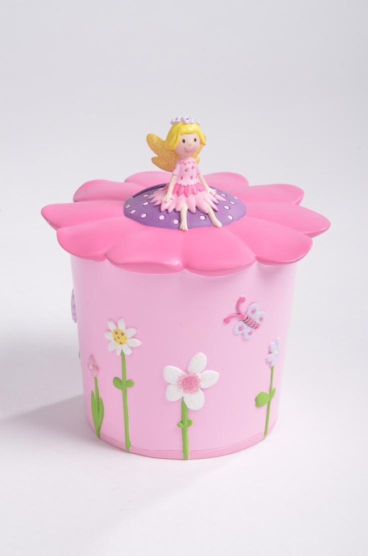 Flower Fairy Money Box