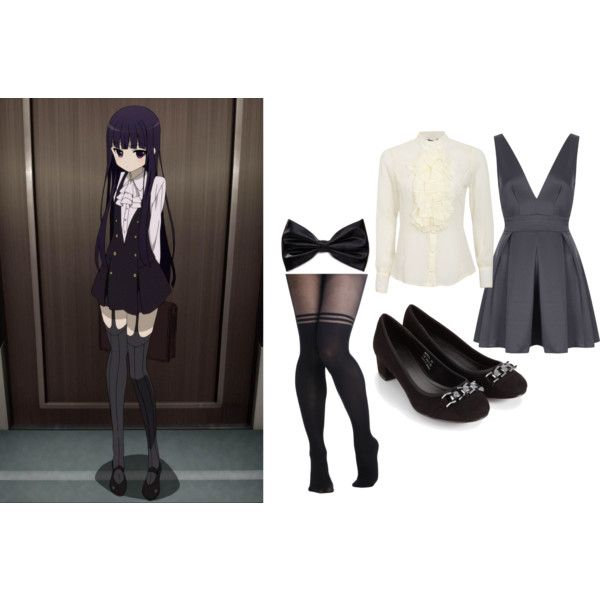 http://www.polyvore.com/anime_inspired_outfits_ririchyo_inu/set?id=104894827 ANIME INSPIRED OUTFITS; Ririchyo/Inu x Boku SS inspired outfit
