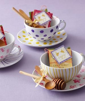Celebrate the bride-to-be with a shower that revolves around high tea.
