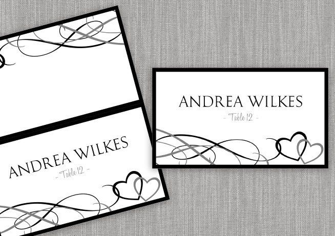 Staples Tent Cards Template Elegant Place Card Tent Download Instantly Editable By Karmakwed Place Card Template Card Templates Printable Printable Place Cards