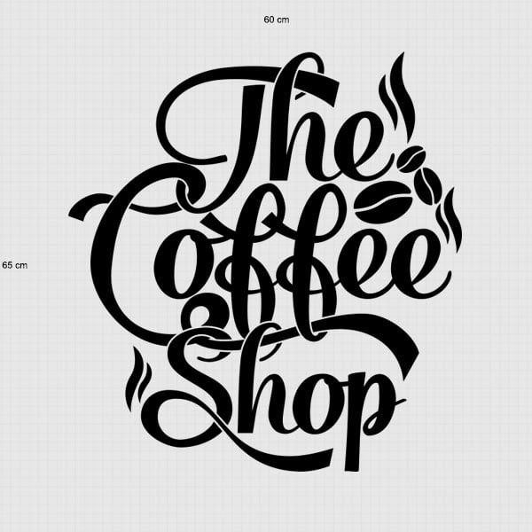 Terkeren 15 Wallpaper Dinding Warung Kopi Stiker Dinding The Coffee Shop Dinding Kaca Cafe Warung Kopi Ksticker To Di 2020 Gambar Dinding Stiker Dinding Warung Kopi