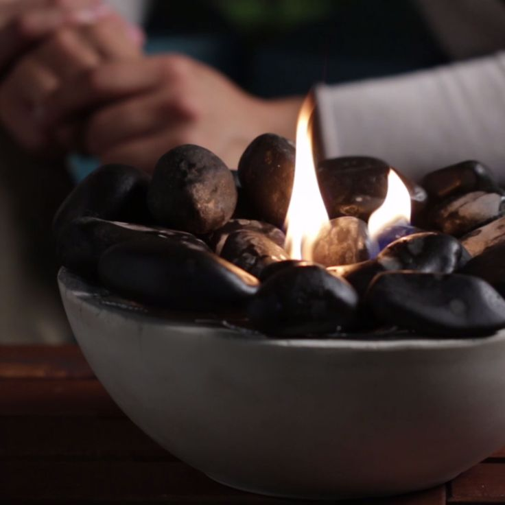 Tabletop Fire Bowl Nifty Outdoors