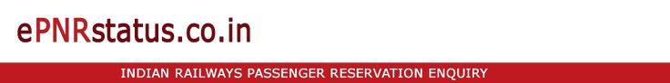 PNR Status - Indian Railway Reservation Enquiry