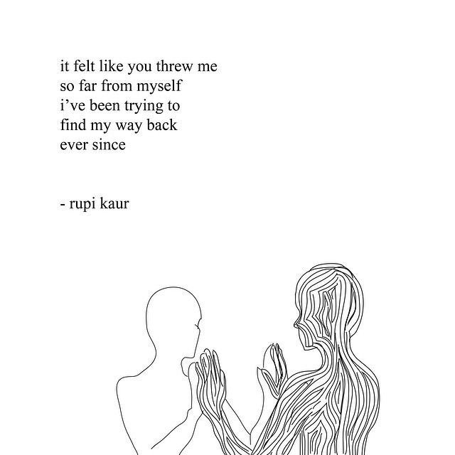 Quotes About Love Rupi Kaur : rupi kaur Yeah Pinterest Nuest jr, Like you and I am
