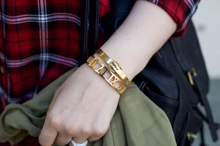 Roman Empress Bangle and Buckle Bangle from @thepeachbox
