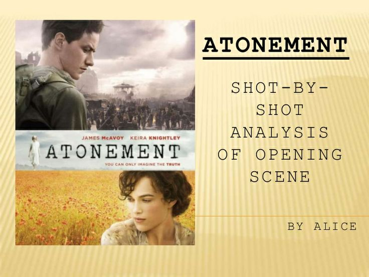 Atonement Film Opening Analysis with a fabulous dollhouse~~