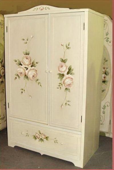 romantischer kleiderschrank frf41 shabby chic pinterest romantisch kleiderschr nke und. Black Bedroom Furniture Sets. Home Design Ideas