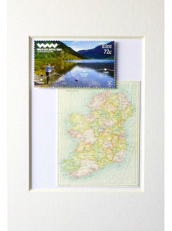 Irish Gift from Ireland Fishing Gift Idea Fly Fishing Art