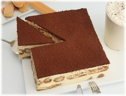 tiramisu. My favorite