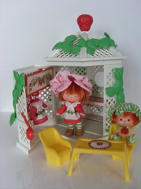 Strawberry Shortcake house. I still have mine. :)