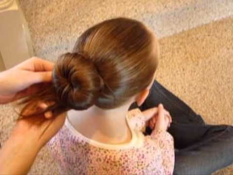 Wonderful making a Perfect Ballet Bun